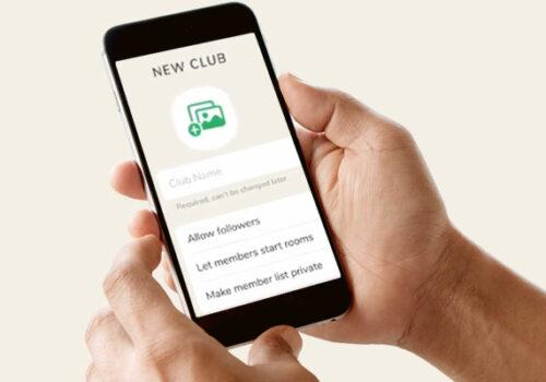 Actualización de la Casa Club: ahora se puede crear la Casa Club en la aplicación